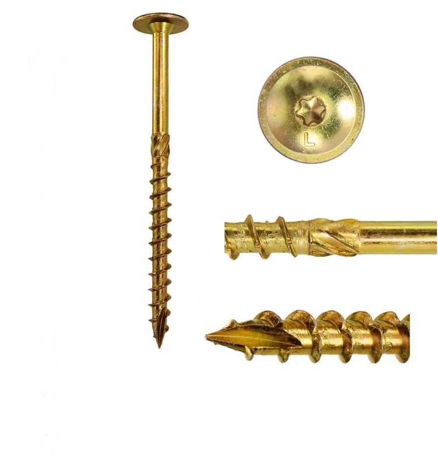 Skrutky skrutky na strešnú trus 8x160mm 10ks torx
