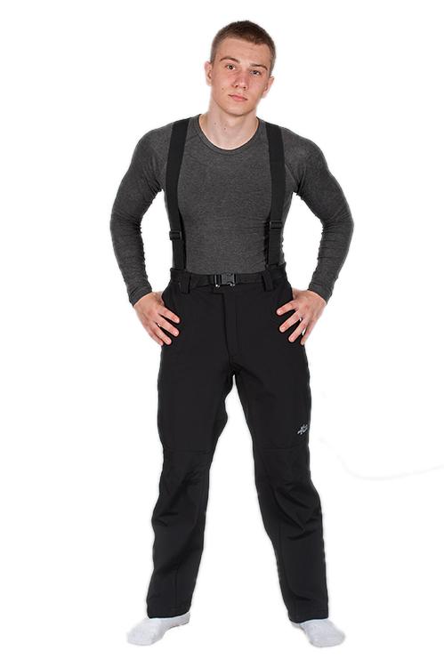 Softshell nohavice veľkosť 120-128 cm