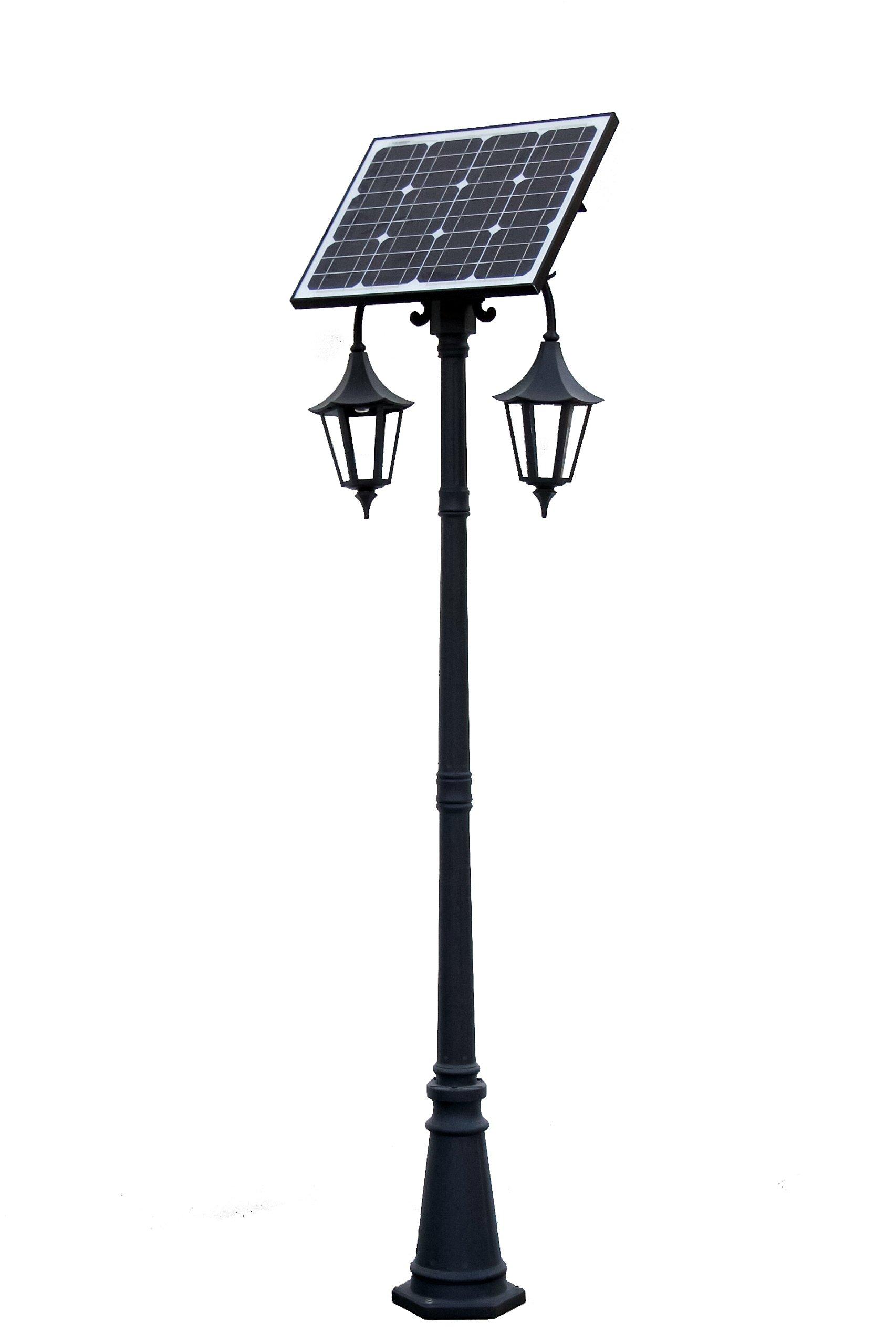 Lampy solárne svietidlo solárny Retro II 2,6 m