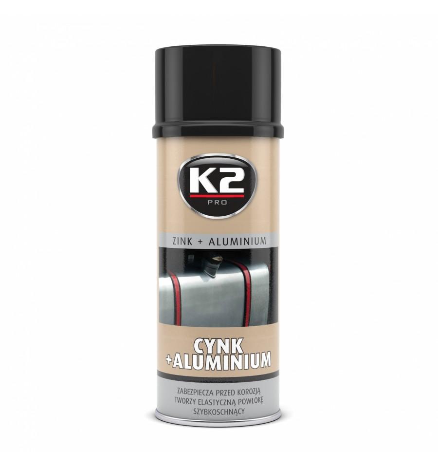 K2 ZinC + hliník 400ml antikorózna farba