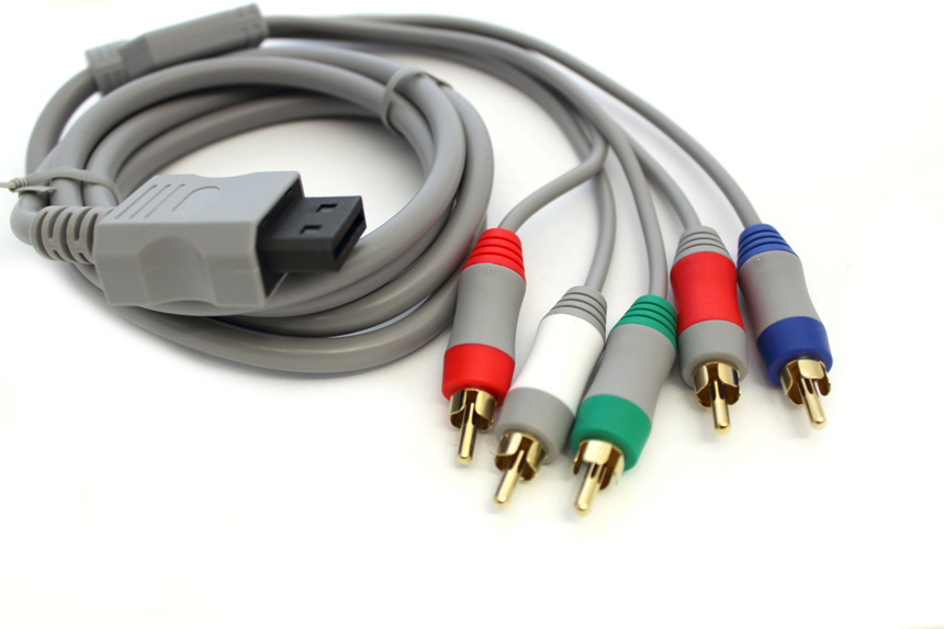 Item The Component cable for the Nintendo Wii ! The image quality !