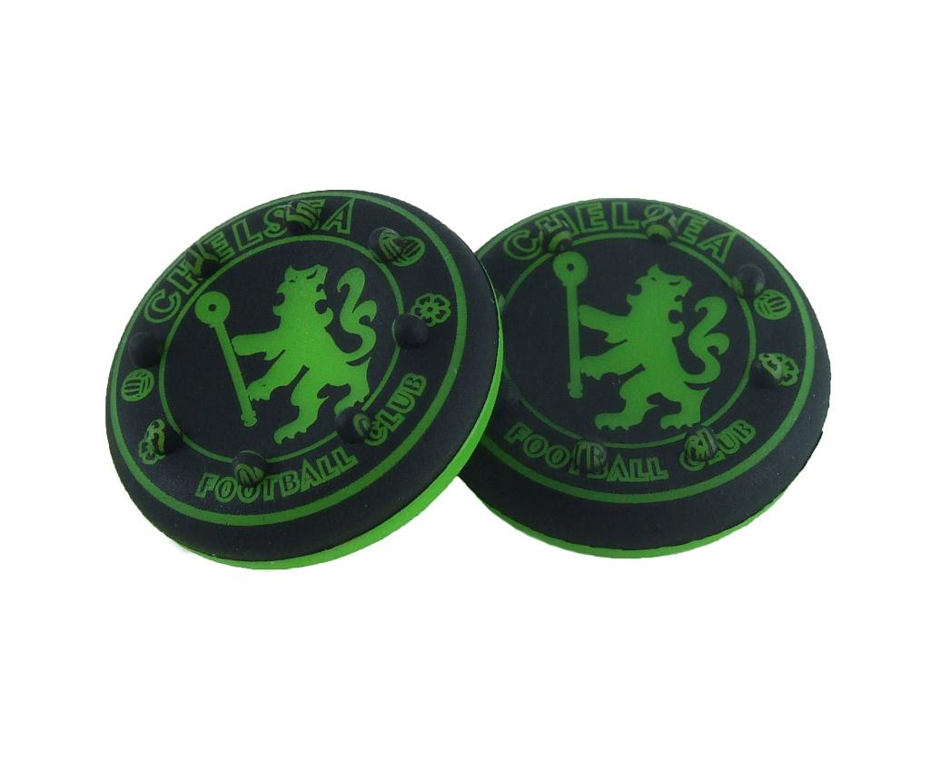 2x Gumové čiapky GRIPY FIFA FOOTBALL CHELSEA
