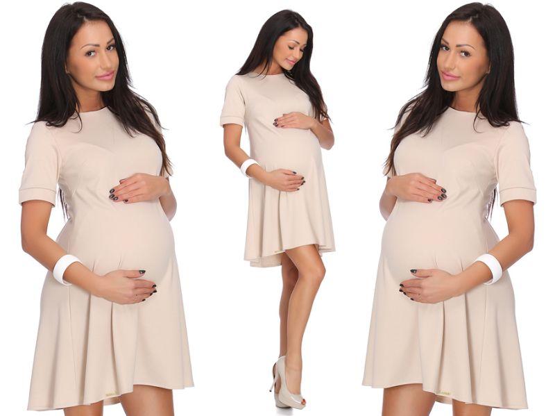 Платье для беременных NATALIA трапециевидной формы _ XL / 42