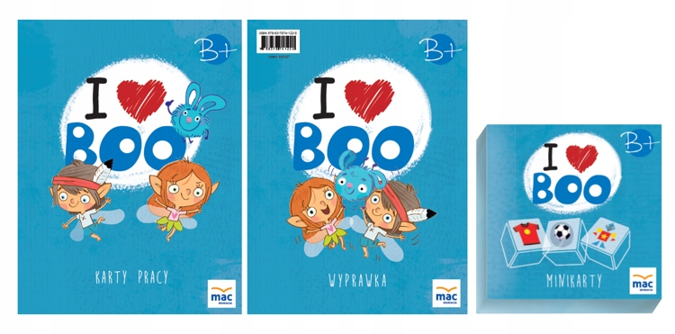 Item Package I LOVE BOO ENGLISH level B+ MAC