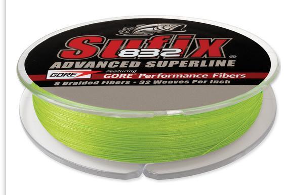 Sufix 832 Rozšírené Superline Neon 0,20 mm/250 m