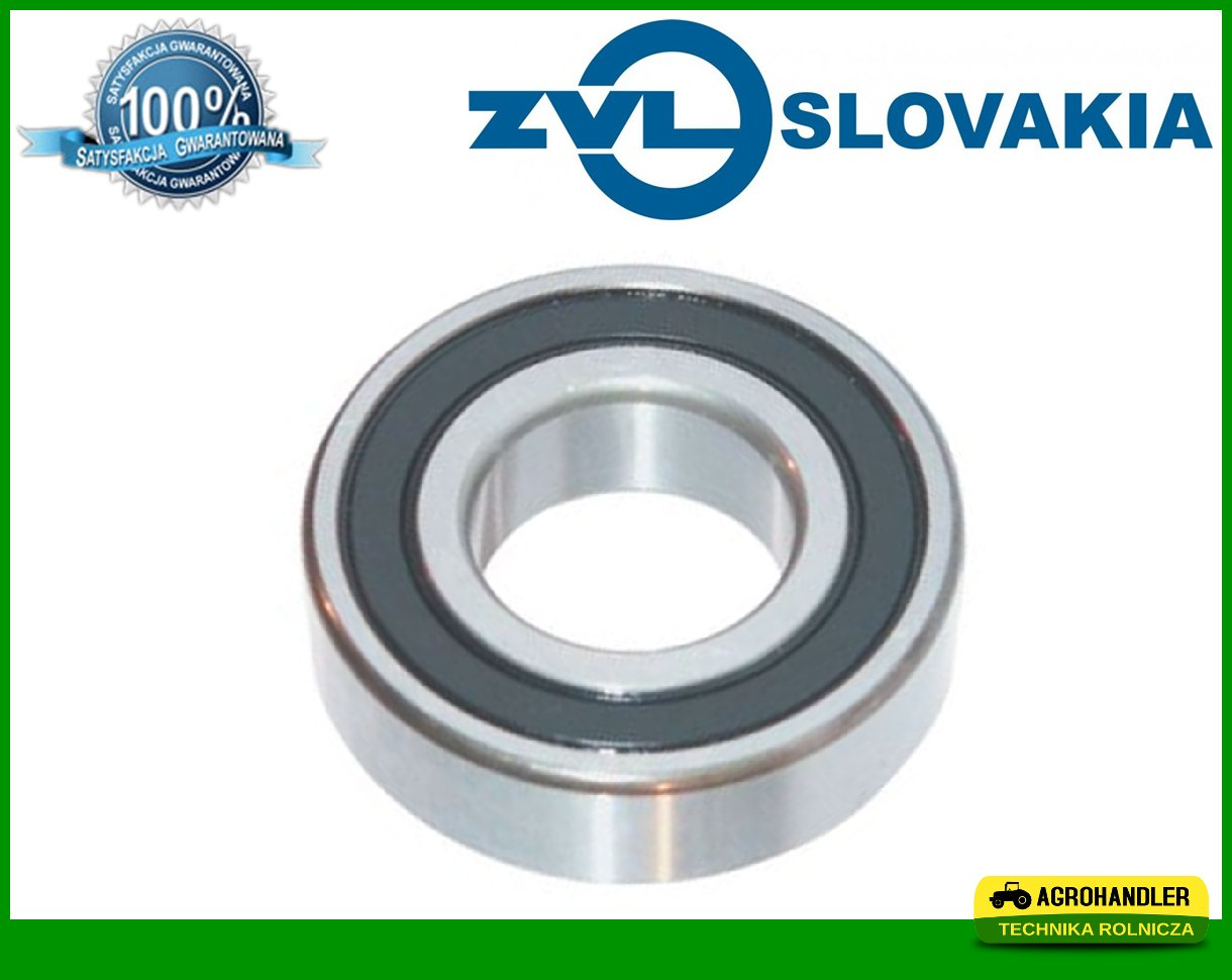 bearings a ball 6206 2RS 30X62X16 BIZON
