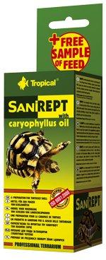 Tropické sanirept pre pozemnú korytnačku