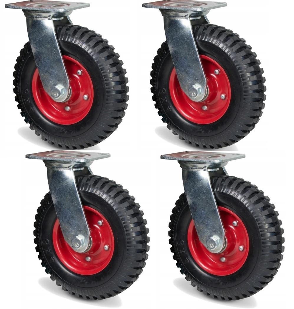 Celé kolesá 4 ks, tanier fi 200 kruh, koleso na vozík