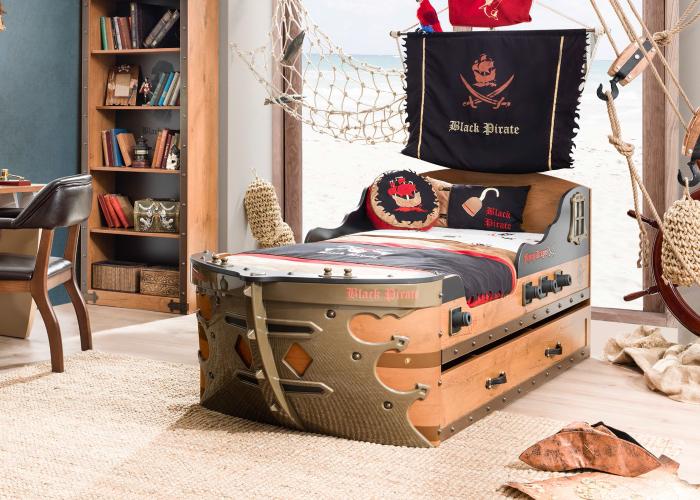 Детская в пиратском стиле картинки