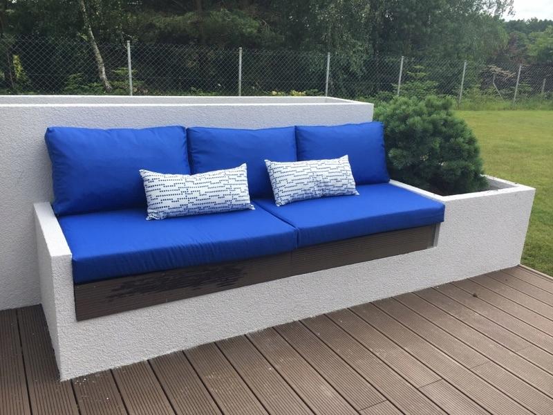 Item cushion for garden rubber garden waterproof