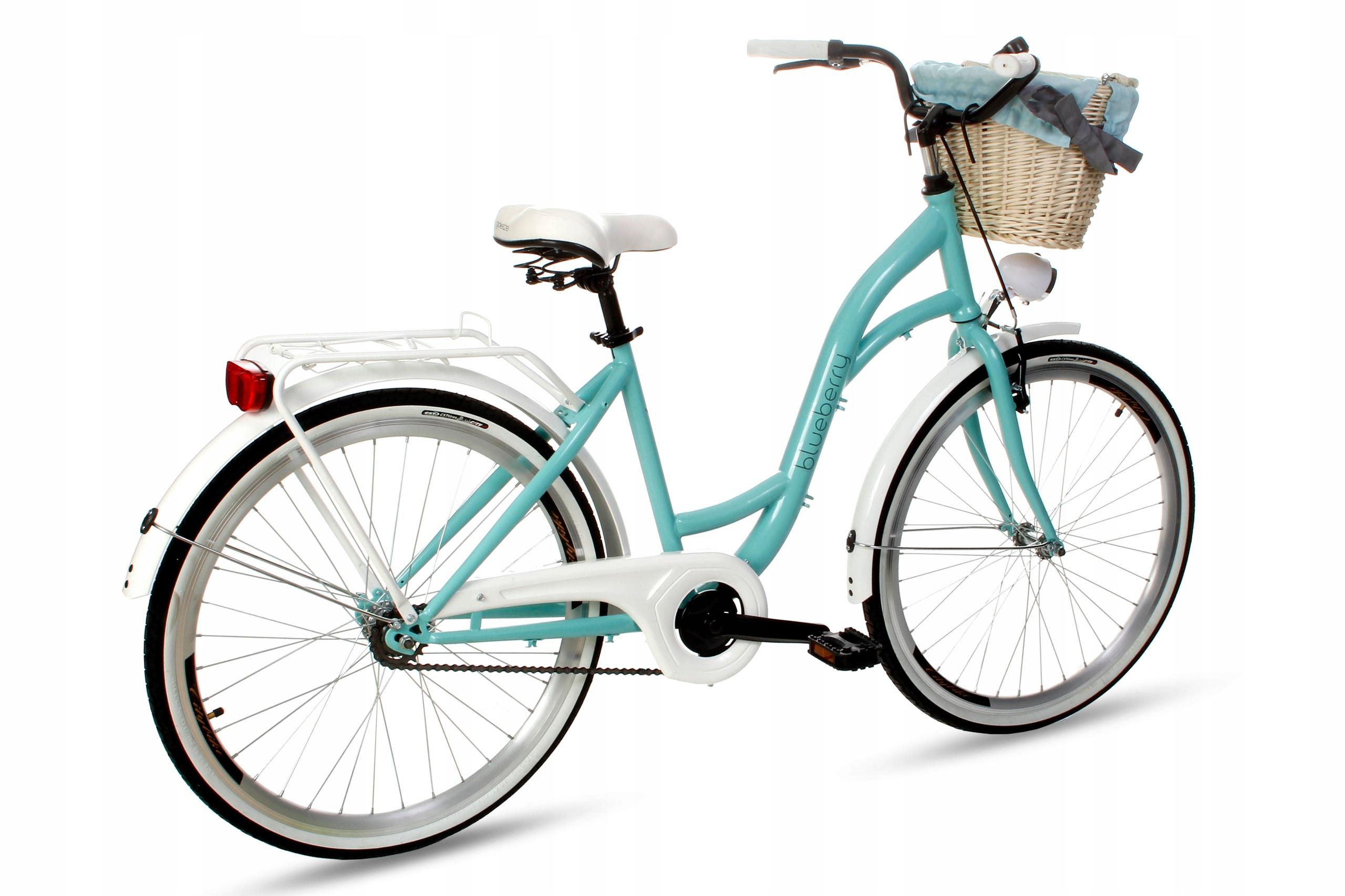 Dámsky mestský bicykel Goetze BLUEBERRY 26 košík!  Váha 16 kg