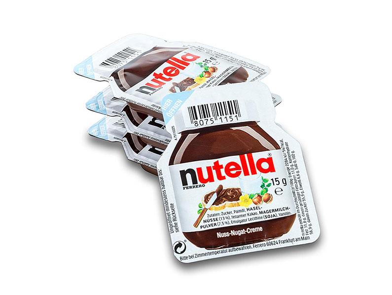 Mini NUTELLA časť 15 g x 60 Ks (UAH 0.89 /Ks)