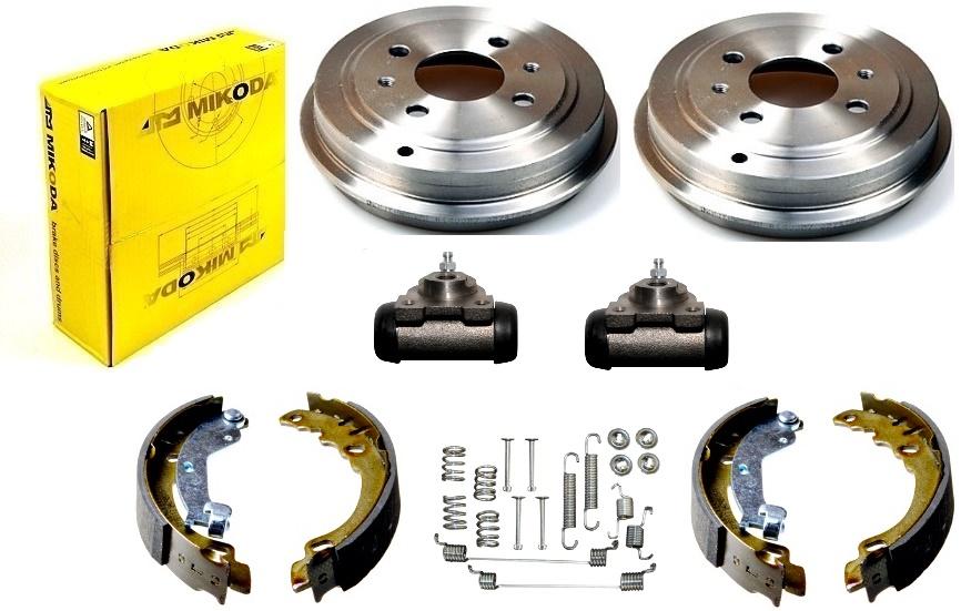 bębny szczęki cylinderki FORD KA II z ABS