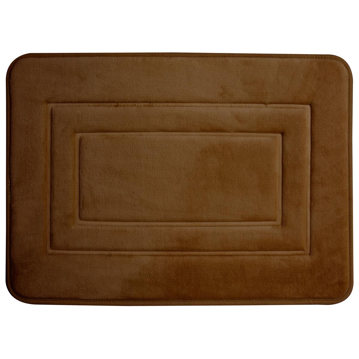 Super mäkká kúpeľňa koberec 40x60 San Brown