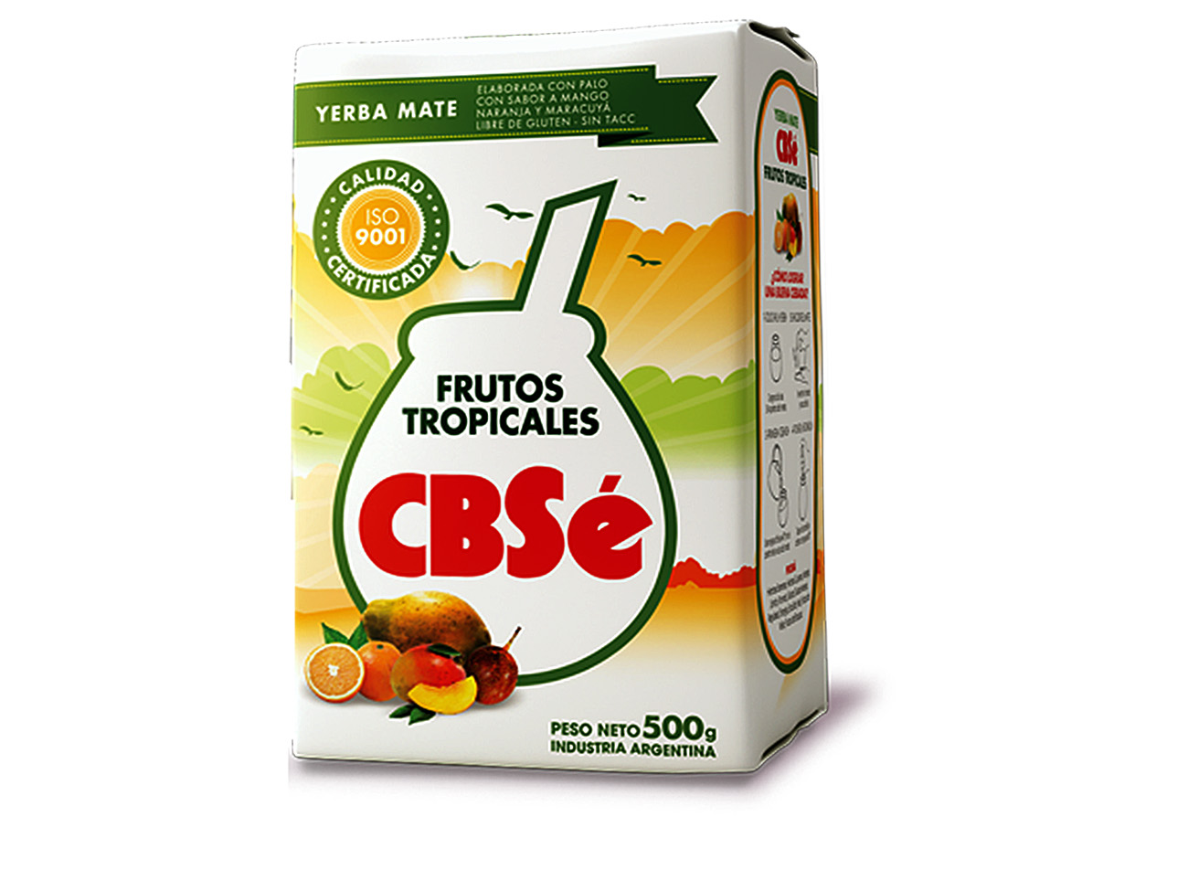 Купить Yerba МАТЕ Cbse Frutos Tropicales 500Г МАНГО ФРУКТЫ на Eurozakup - цены и фото - доставка из Польши и стран Европы в Украину.