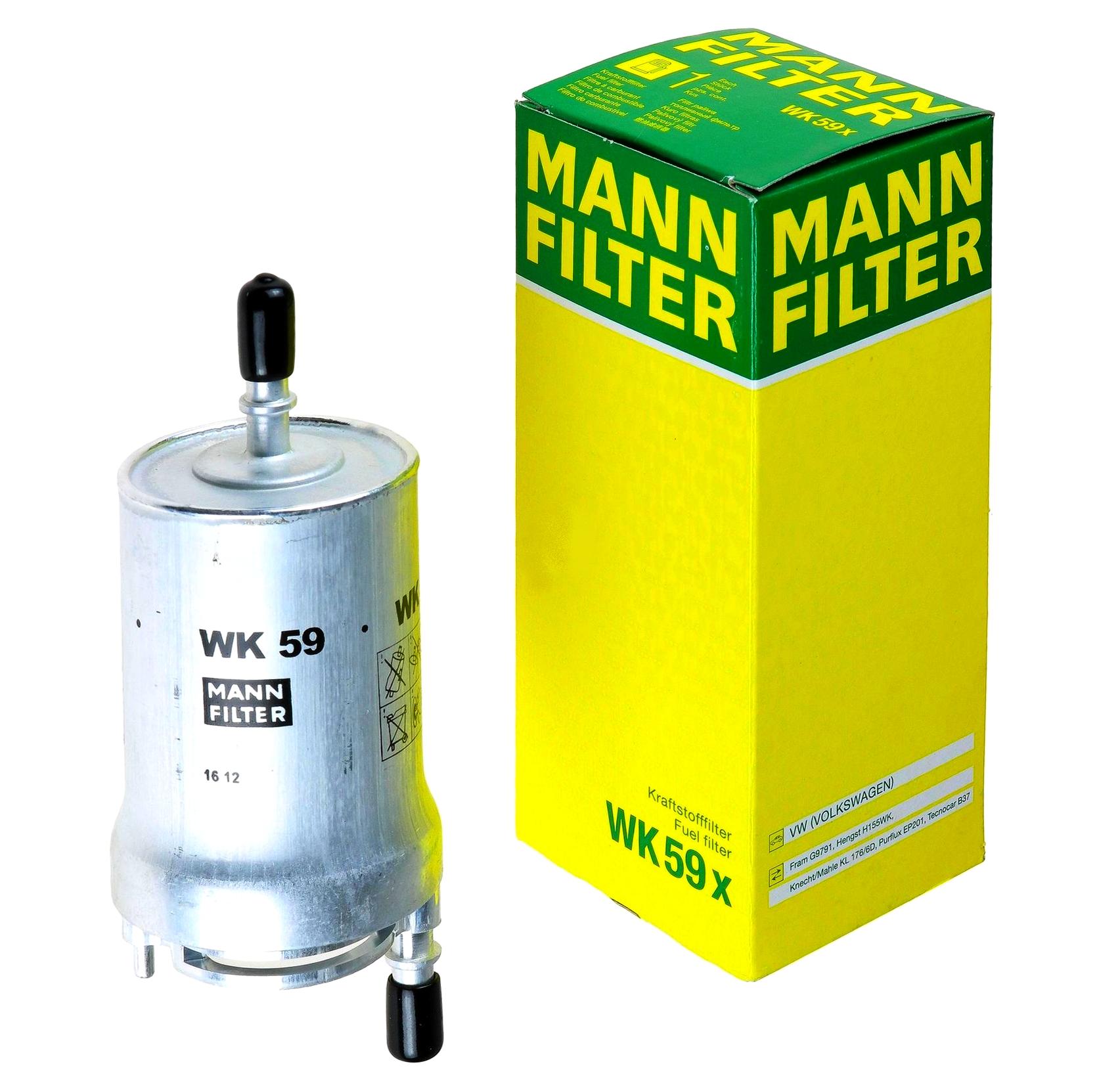 mann filter фильтр топлива wk59x audi seat skoda vw