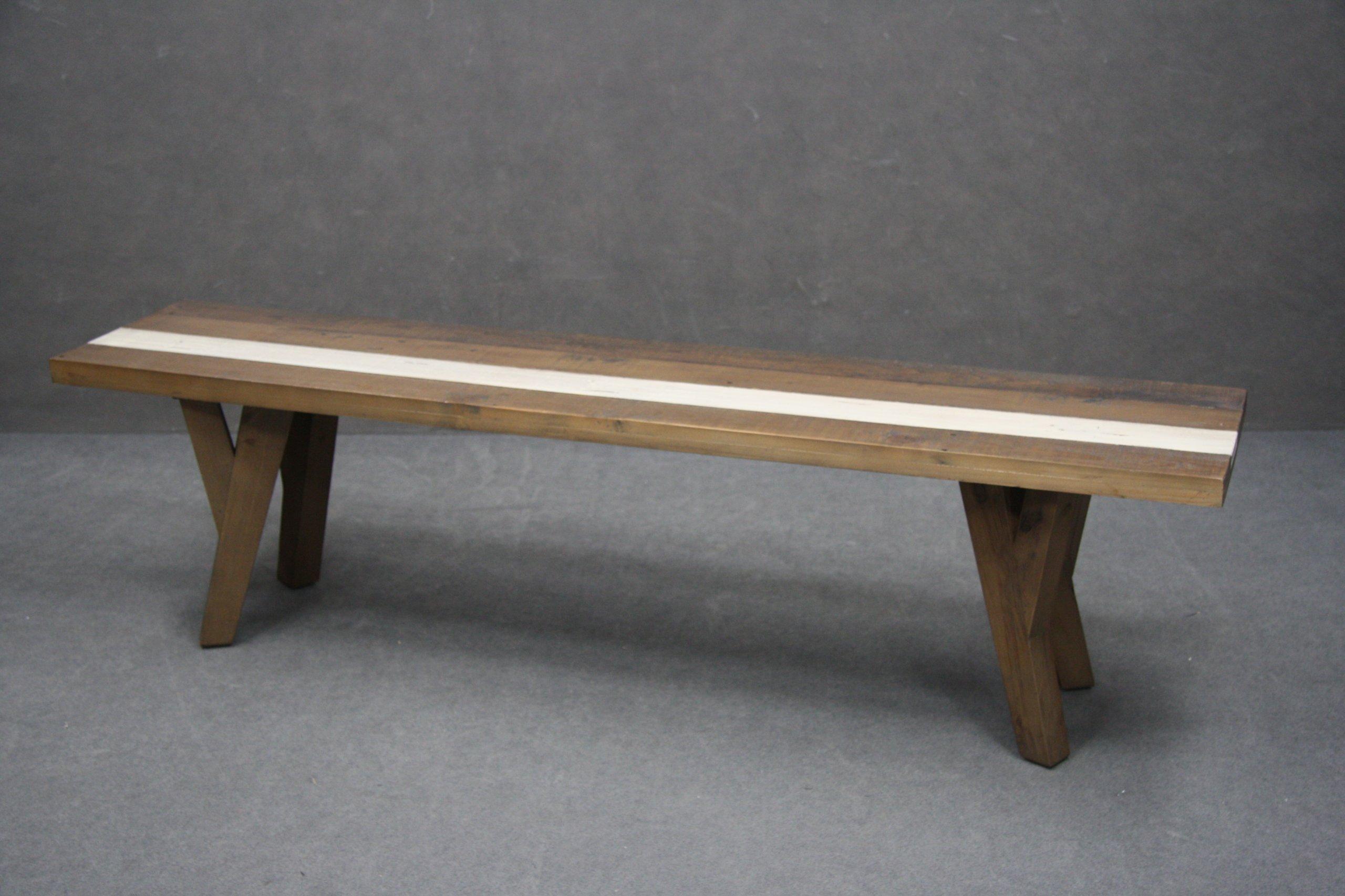 Drevené lavice 170 cm Starej Borovice VINTAGE ORLEANS