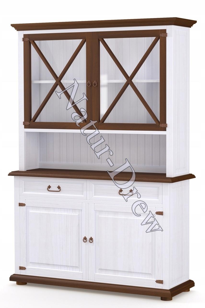 100% drevený retro komoda do obývačky alebo kuchyne