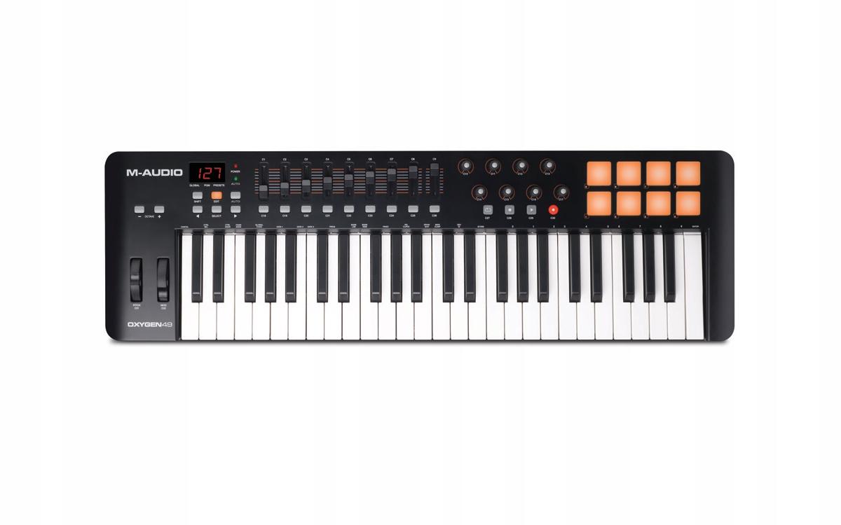 M-Audio Oxygen 49 IV Control Keyboard + Ableton