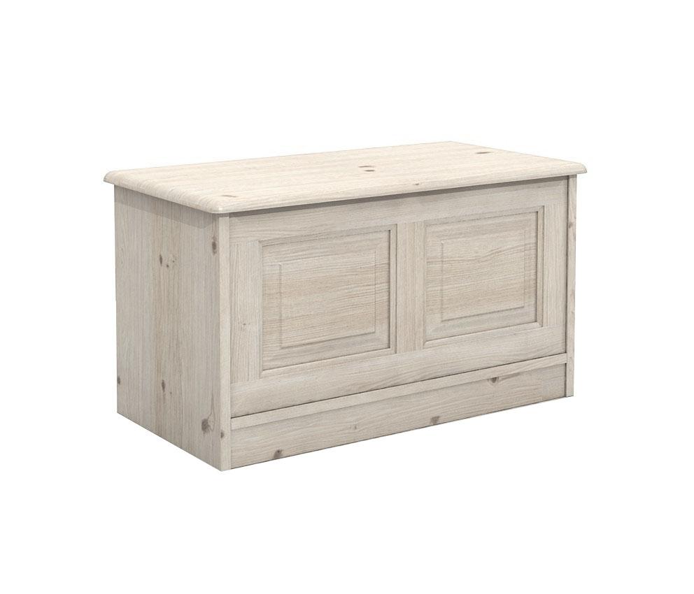 DSI-nábytok : drevené HRUDNÍKA Box - biely