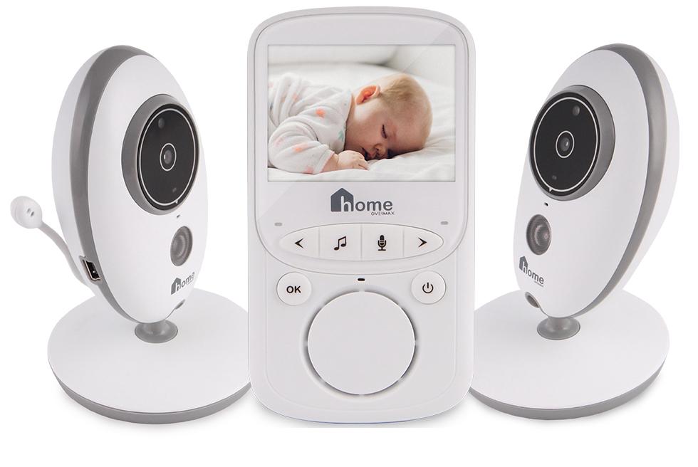 Elektronická Nanny OverMax Babyline 5.1 2xkamera
