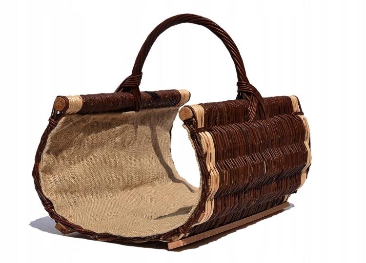 Плетеные корзины для дров для камина 50см СУПЕР!!!!!