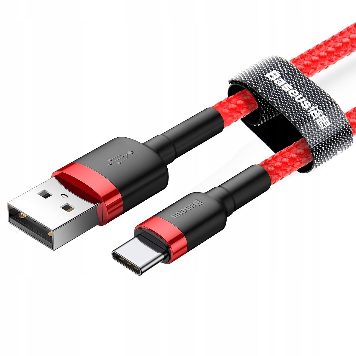 Item Baseus USB-C cable Type C 3.0 Quick Charge 2A 200cm