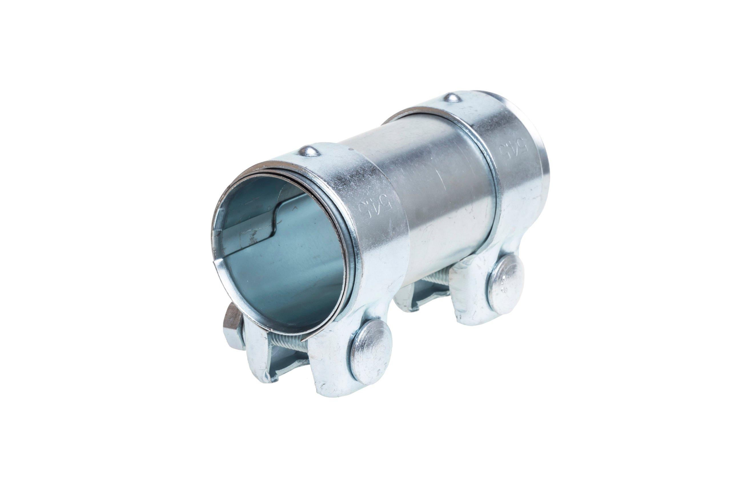 Соединитель глушителя выхлопа для выхлопной трубы 50х125 мм.
