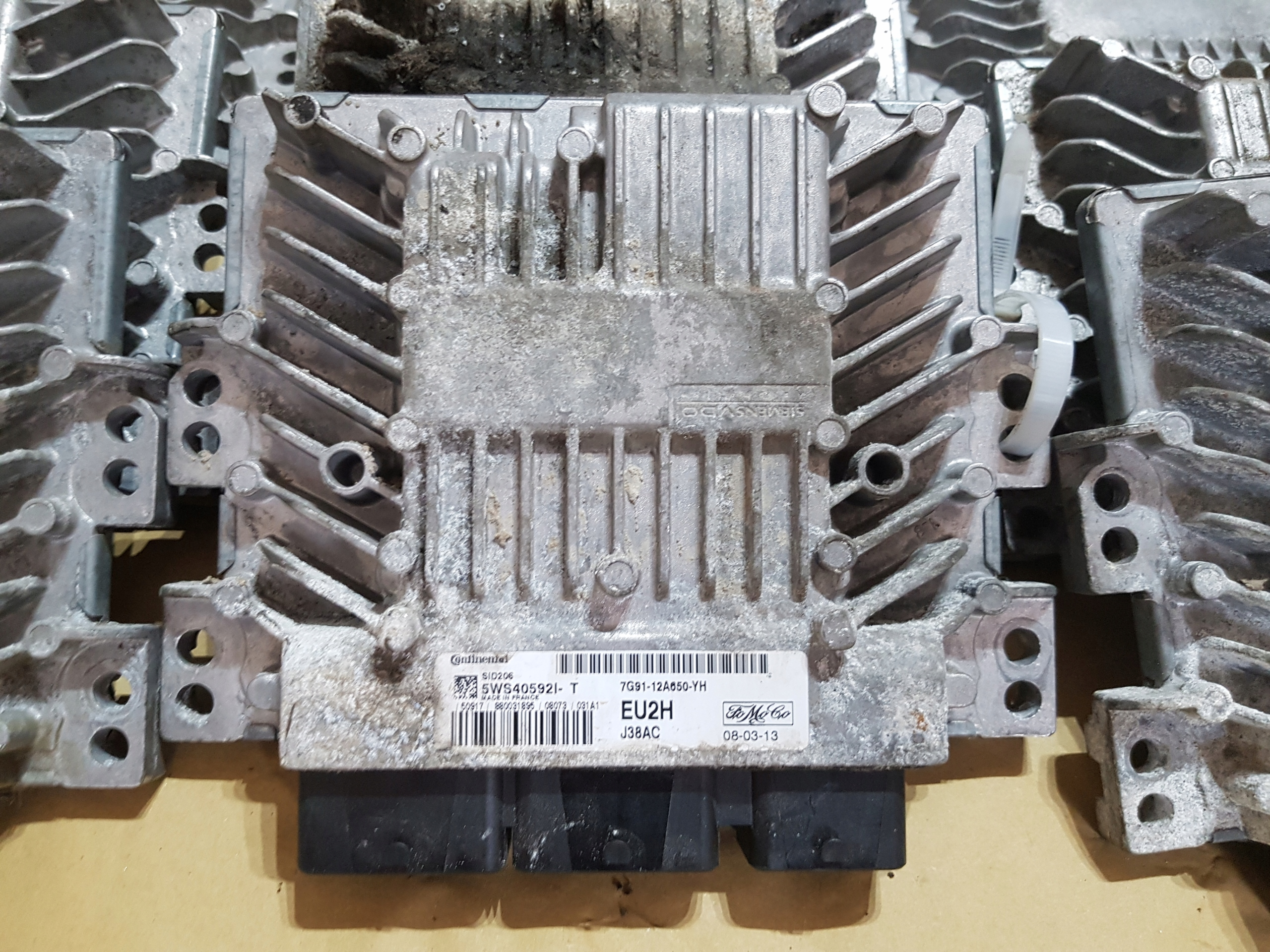 компьютер двигателя mondeo mk4 18tdci 7g91-12a650-yh