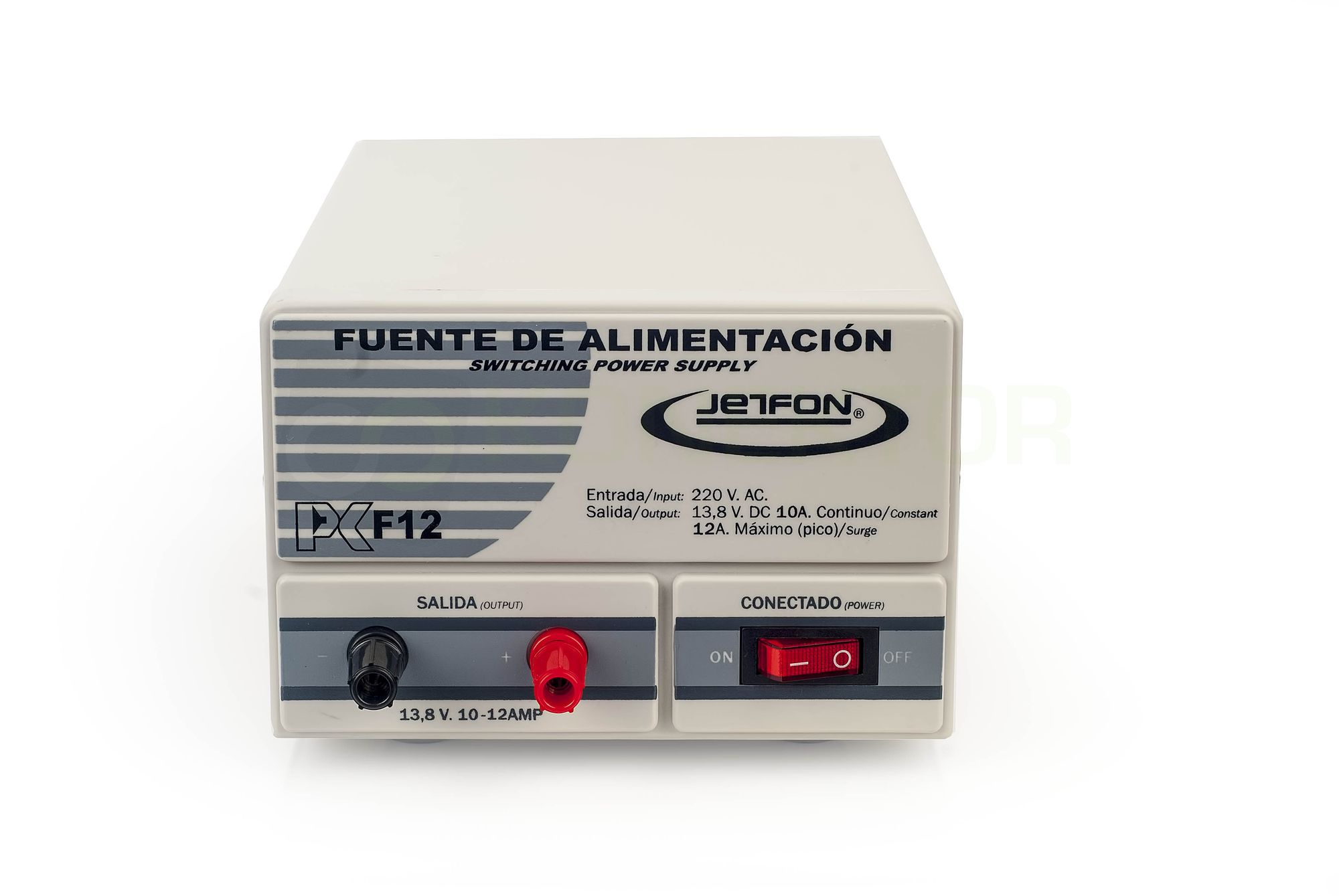 Item JETFON PCF12 STABILIZED POWER SUPPLY 13.8 V 12A