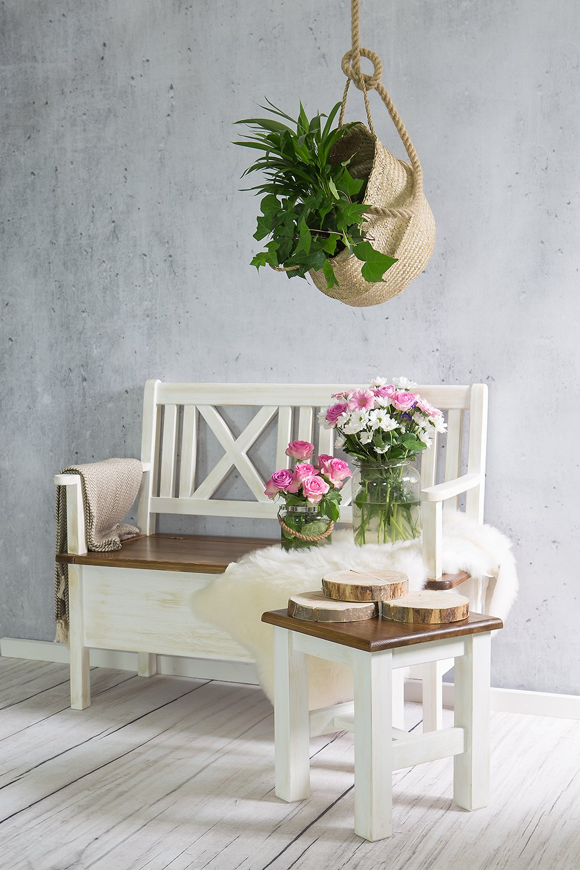 +lavica z dreva, polyuretánu borovica výrobcu+
