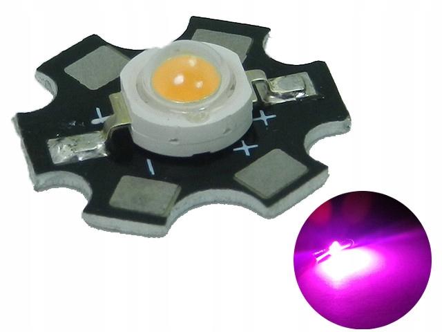Светодиод POWER LED 3W BRIDGELUX Full Spectrum PCB 45м