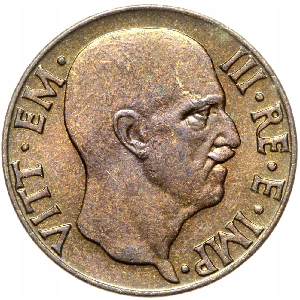 Taliansko - Wiktor Emanuel III - 5 CENTESIMI 1942