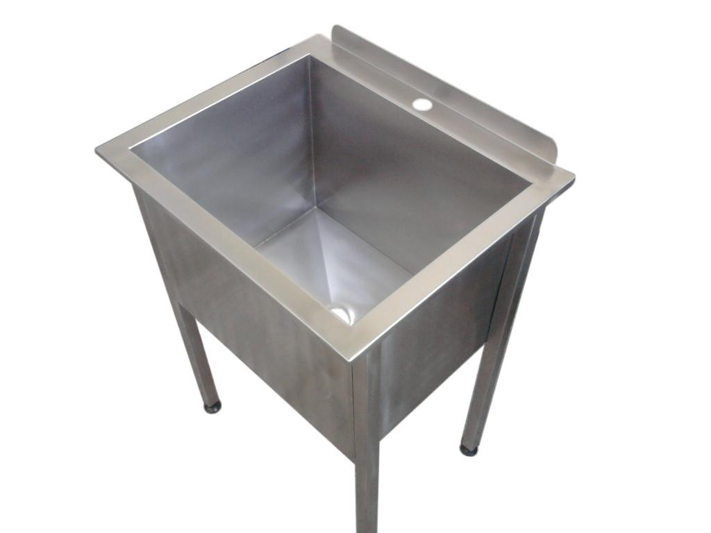 Stół z basenem zlewem jednokomorowym 700X600