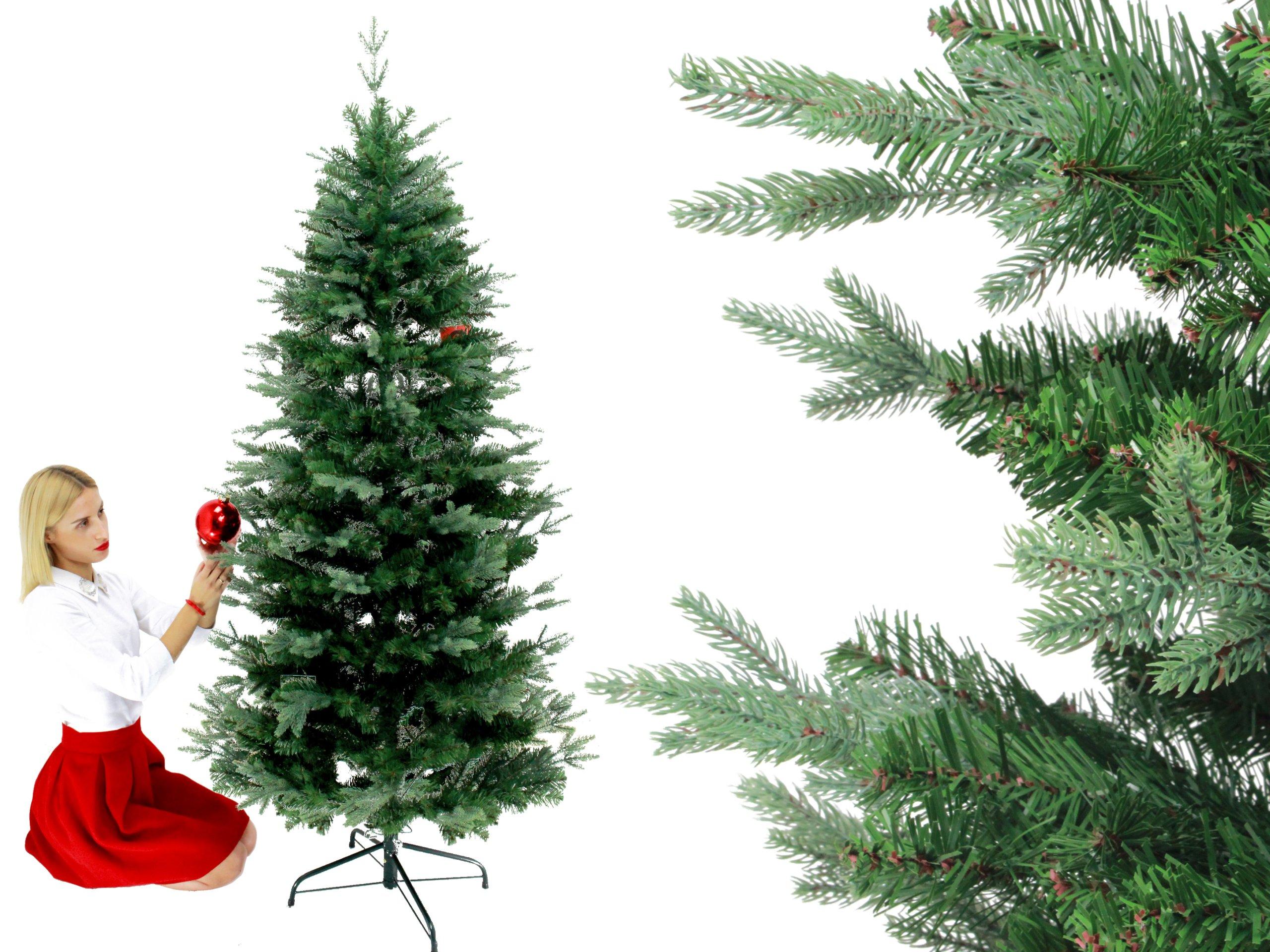 Vianočný strom Everlands 180cm 747 Spriges of PE 12 rokov GW