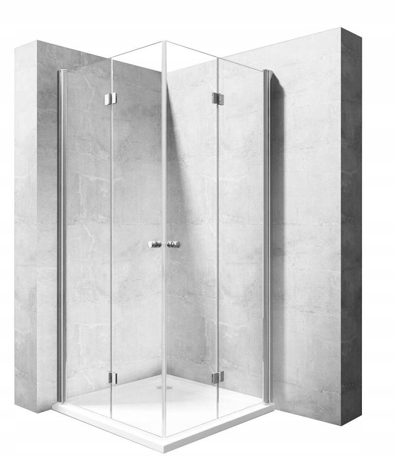 Skladací sprchový kút FOLD N2 100x100 Rea