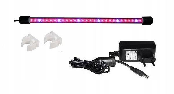 Akvarijné osvetlenie LED 70 cm rastú rastliny, rastlinné