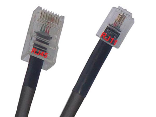 кабель адаптер 5 м подавление Rj45 Rj11 черный купить с доставкой из польши с Allegro на Fastbox 6868429559