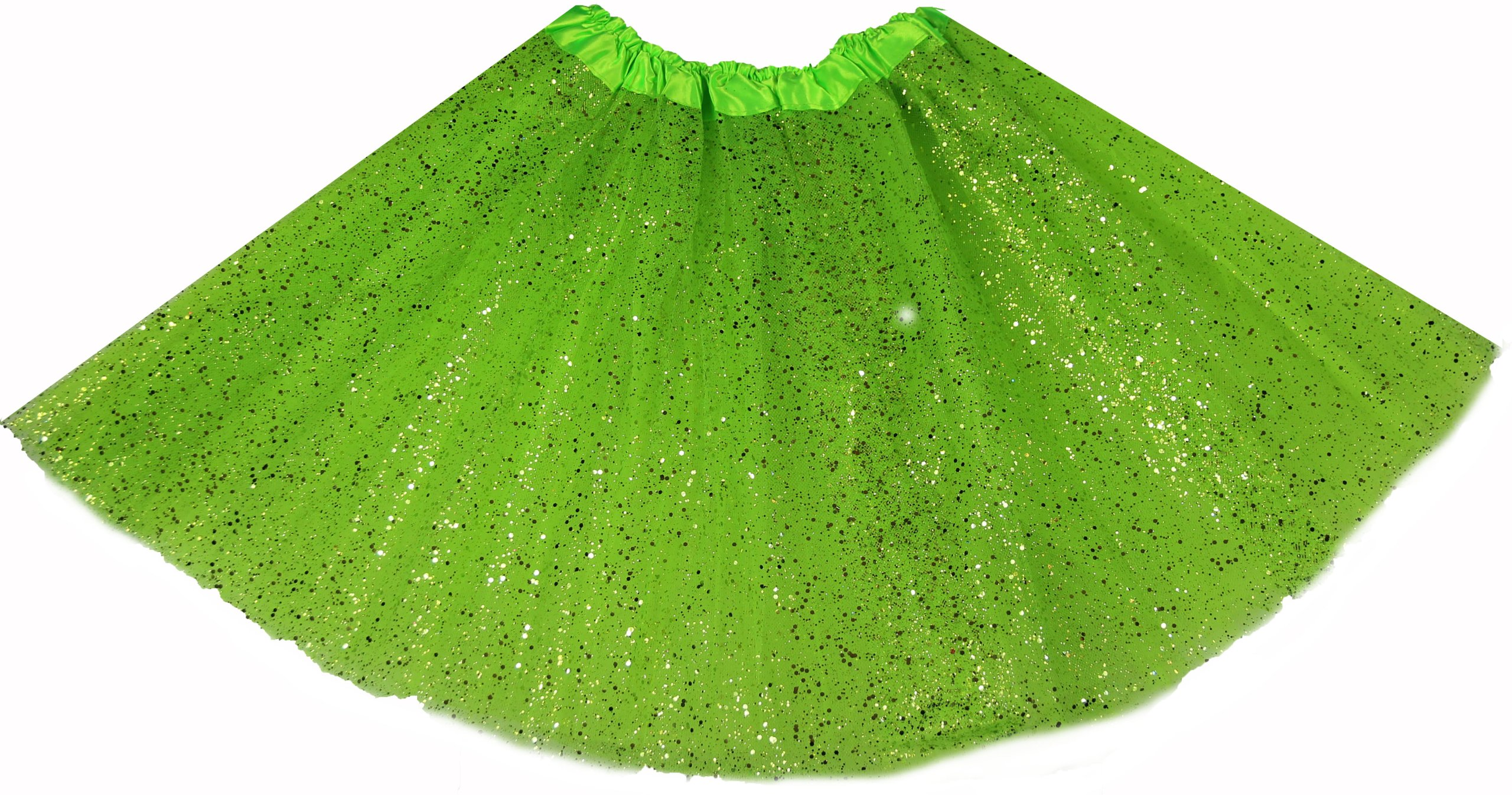 7d61a4b8e8 TIULOWA TUTU SPÓDNICA zielona brokat 40 CM 7340500900 - Allegro.pl
