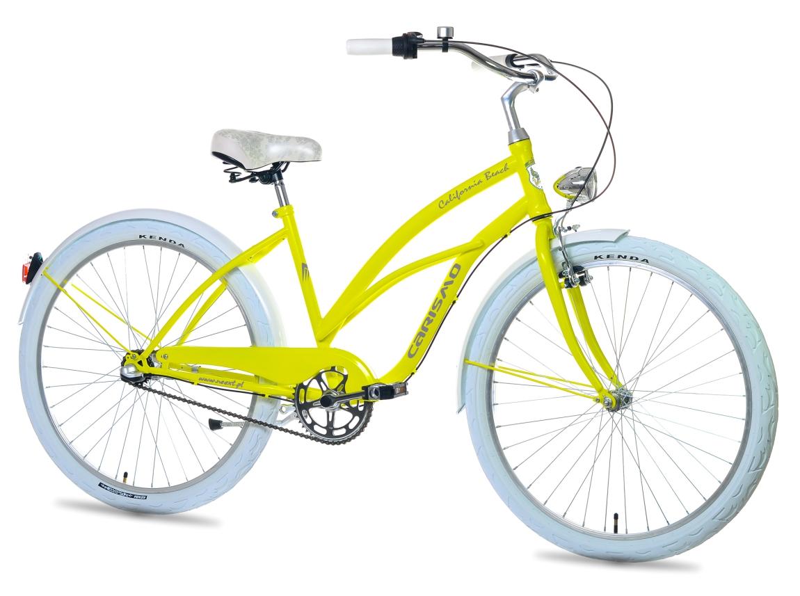 Ženské City Bike CARISMO 26 Cruiser 3 rýchlosti