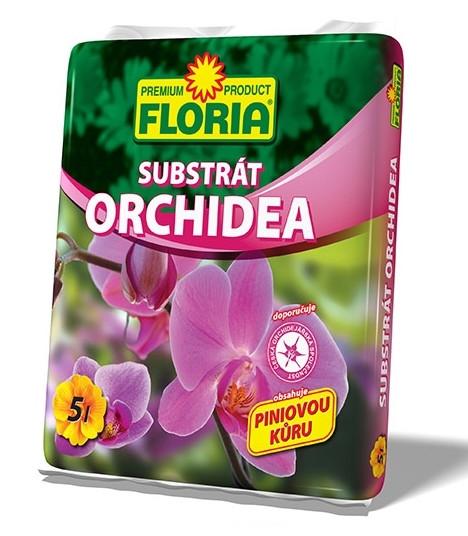 Floria Substrát Zem pre orchidey 5 l