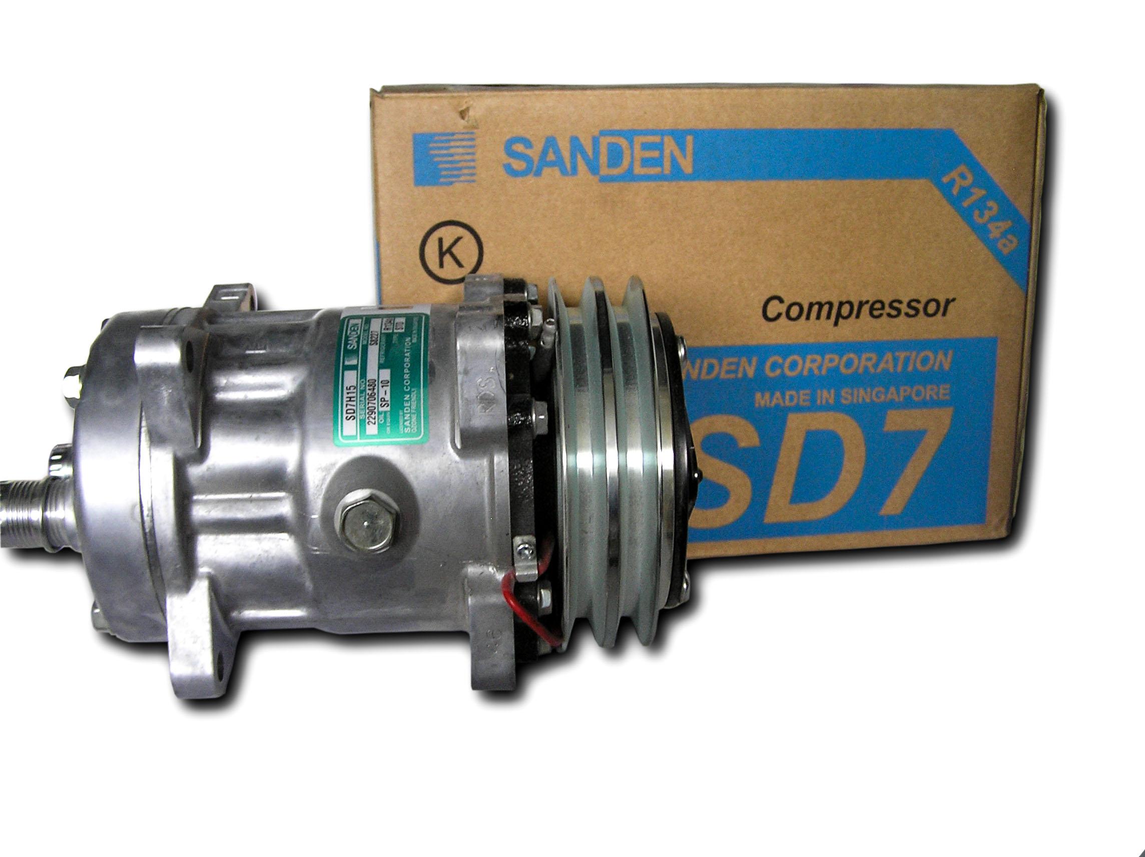 кондиционер компрессор sanden sd7h15 акция новая