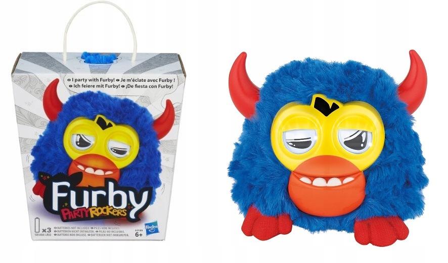 Hasbro Furby Party Rockers Navy Scoffby