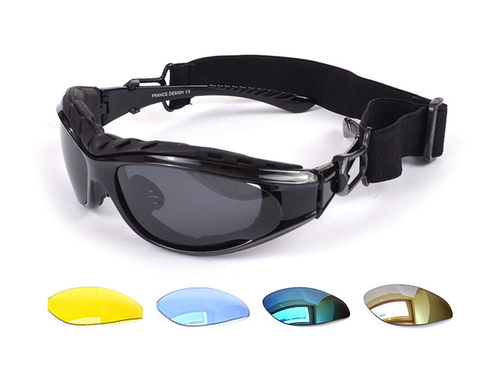Okuliare pre lyžovanie UV400 Bike + vymeniteľné okuliare