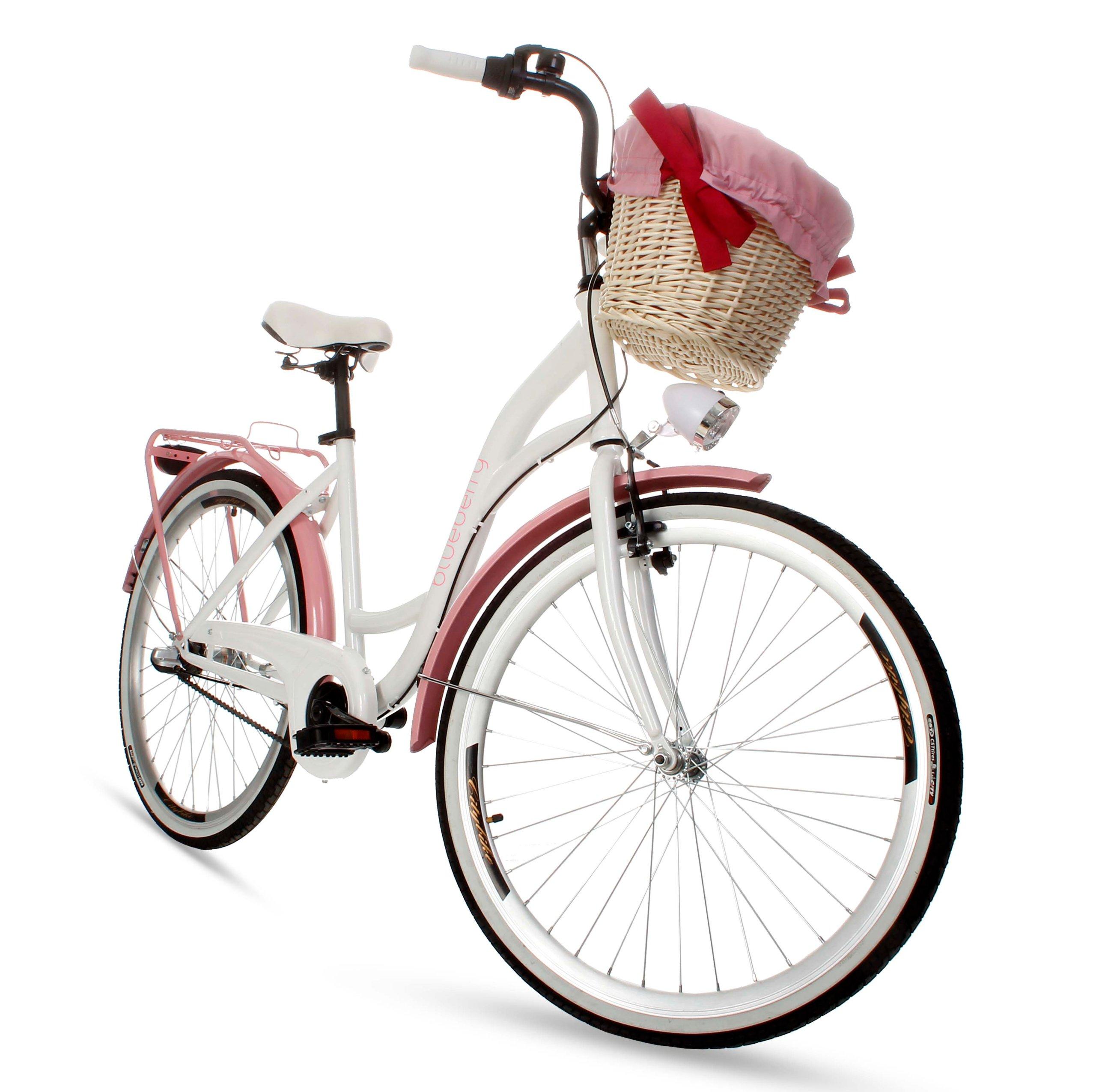 Dámsky mestský bicykel Goetze BLUEBERRY 26 3b košík!  Torpédové brzdy s brzdou v tvare V.