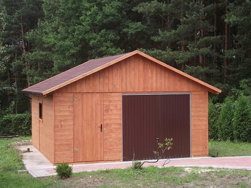 Garaż Drewniany Domek Narzędziowy Gospodarczy 7571787720 Allegropl