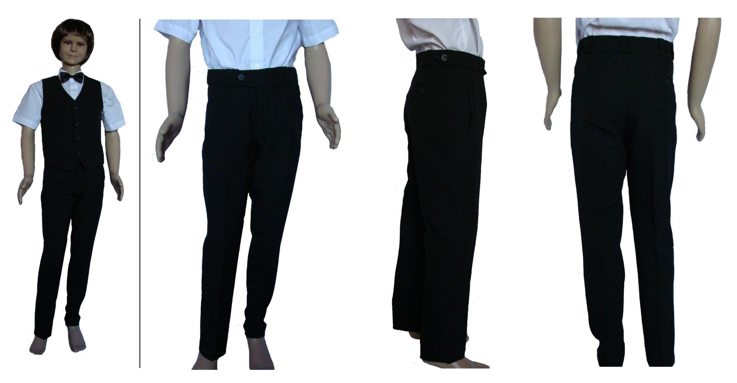Nohavice pre chlapcov, pre sväté prijímanie, pomazanie 134 cm