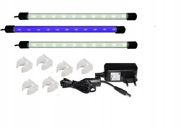 Akvarijné osvetlenie LED žiarovka 3 x 100 cm MALAWI