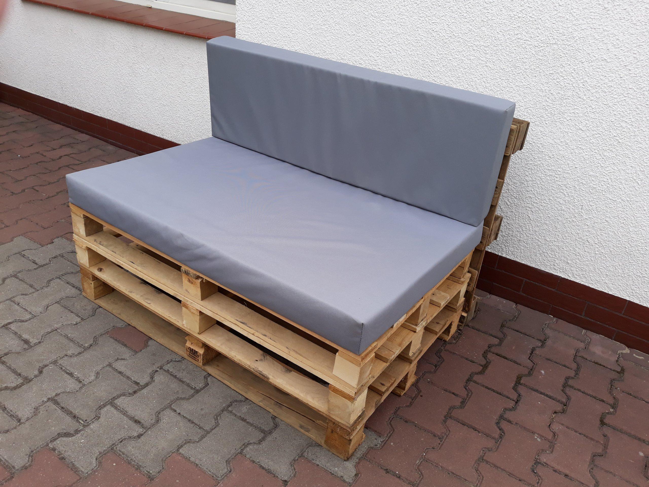 Poduszka Poducha na meble z palet 120x80 KOMPLET