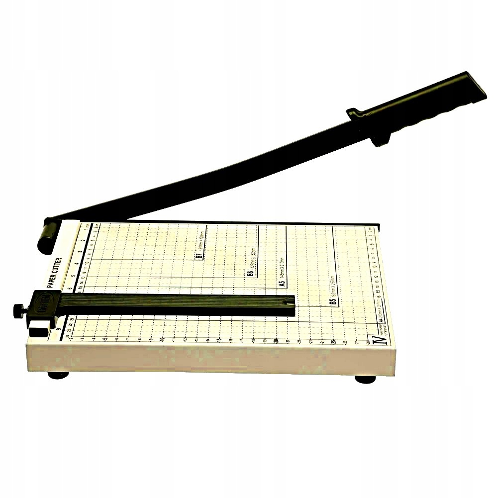 Item GUILLOTINE PAPER CUTTING GUILLOTINE TRIMMER A4 A5